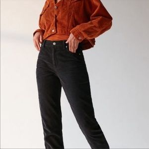 Urban Outfitters BDG high rise black mom jeans